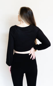 It's Casual Top, Black