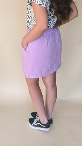 Pastel All Your Friends Skirt, Lavender