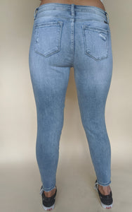 Louisiana Girl Jeans, Light Denim