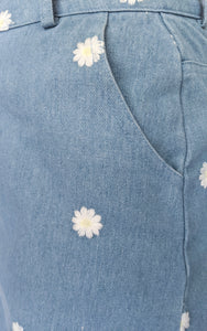 Daisy Susan Skirt, Light Denim
