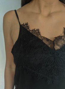 Lace Get It On Top, Black