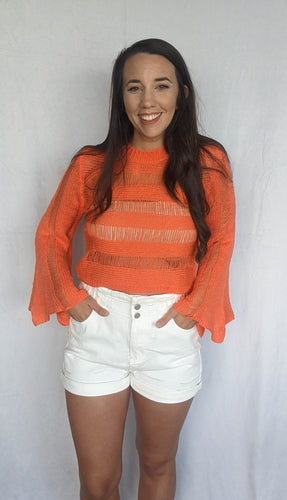 Snag It Up Top, Neon Coral