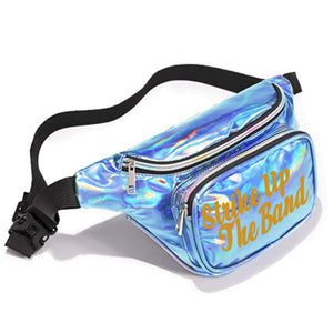 Worth The Waist Fanny Pack, Clear-Holographic