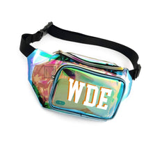 Load image into Gallery viewer, Worth The Waist Fanny Pack, Clear-Holographic