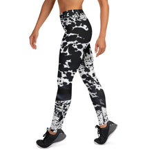 Load image into Gallery viewer, Dalmatian Black Yoga Pants - aqayoga  YOGA LEGGINGS UK Yoga Store