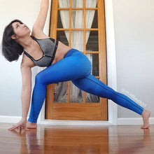 Load image into Gallery viewer, Blue Royale Yoga Leggings