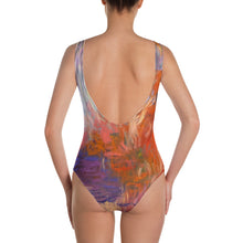 Load image into Gallery viewer, Evening Waterlilies Leotard - aqayoga  Leotard UK Yoga Store