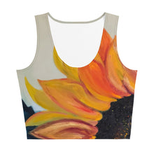 Load image into Gallery viewer, Sunflower Crop Top - aqayoga  Crop Top UK Yoga Store