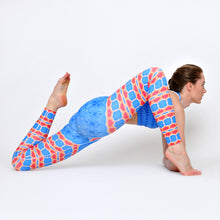 Load image into Gallery viewer, French Blue Yoga Pants