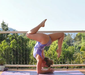 Purple Haze Leotard - aqayoga  Leotard UK Yoga Store