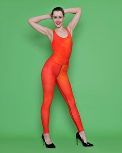Red Heart Leotard - aqayoga  Leotard UK Yoga Store