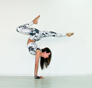 Dalmatian Yoga Pants - aqayoga  YOGA LEGGINGS UK Yoga Store