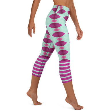 Ladies Night Yoga Capri Leggings