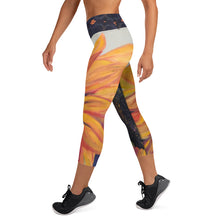 Load image into Gallery viewer, Sunflower Yoga Capri Leggings