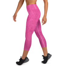Load image into Gallery viewer, Fuchsia Yoga Capri - aqayoga  Yoga Capri UK Yoga Store