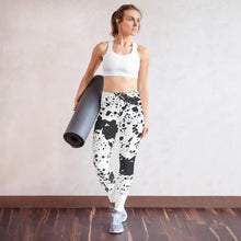 Load image into Gallery viewer, Dalmatian Yoga Pants
