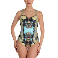 Load image into Gallery viewer, Gold Leotard - aqayoga  Leotard UK Yoga Store
