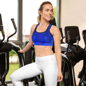 Blue Royale Sports Bra - aqayoga  Sports Bra UK Yoga Store