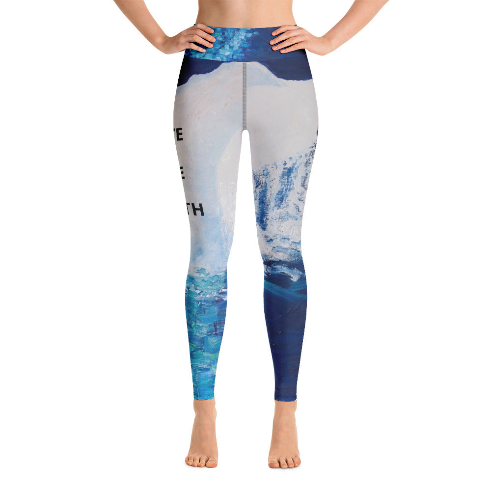 Migaloo Diving Yoga Leggings - aqayoga  YOGA LEGGINGS UK Yoga Store