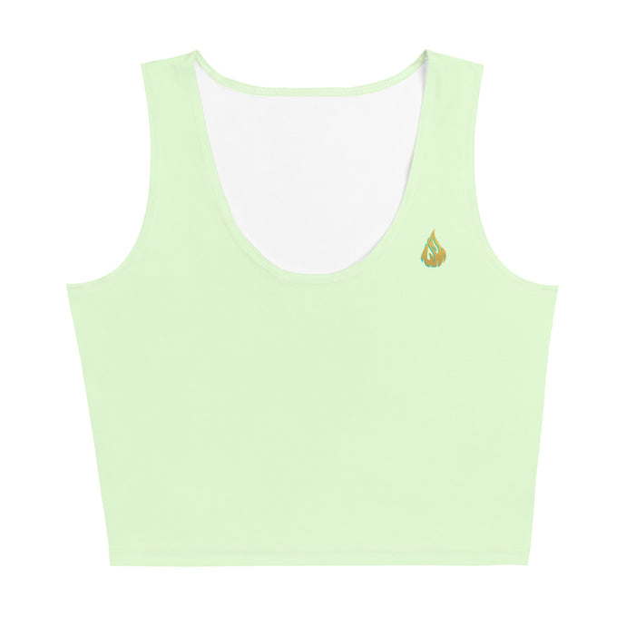 Lime Crop Top