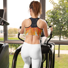 Load image into Gallery viewer, Sunflower Sports bra - aqayoga  Sports Bra UK Yoga Store