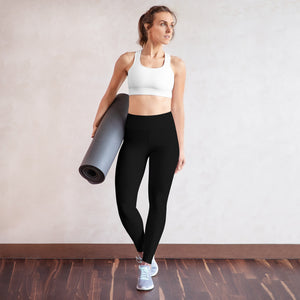 Black Yoga Pants - aqayoga  YOGA LEGGINGS UK Yoga Store