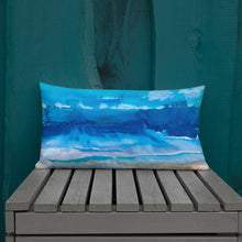 Load image into Gallery viewer, Over The Sea Premium Pillow - aqayoga  pillows UK Yoga Store