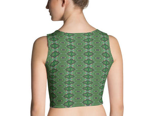 Forest Yogi Crop Top - aqayoga  Crop Top UK Yoga Store