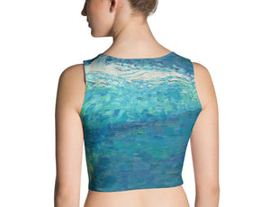 Migaloo Crop Top - aqayoga  Crop Top UK Yoga Store