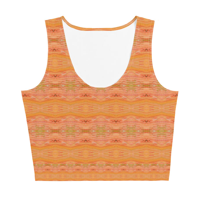Yellow Lollipop Crop Top - aqayoga  Crop Top UK Yoga Store