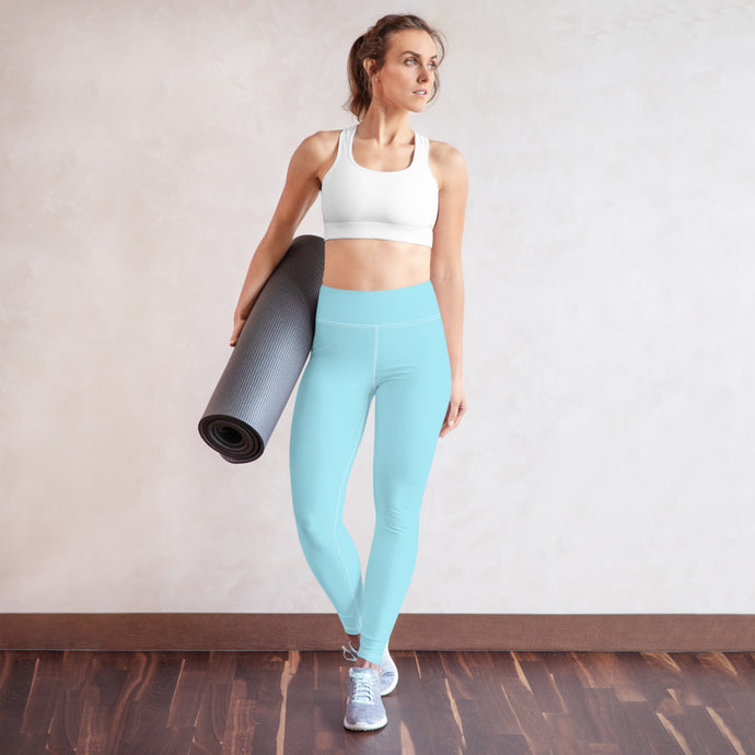 Blue Yoga Pants - aqayoga  YOGA LEGGINGS UK Yoga Store