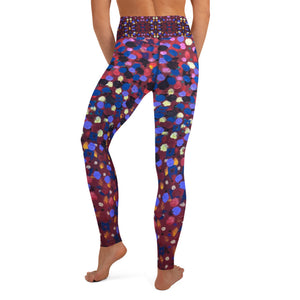 Paint Dot Yoga Leggings - aqayoga  YOGA LEGGINGS UK Yoga Store