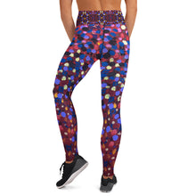 Load image into Gallery viewer, Paint Dot Yoga Leggings - aqayoga  YOGA LEGGINGS UK Yoga Store