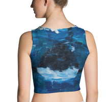 Load image into Gallery viewer, Migaloo & Orca Crop Top - aqayoga  Crop Top UK Yoga Store