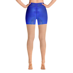 Blue Royale Yoga Shorts - aqayoga  Yoga Shorts UK Yoga Store