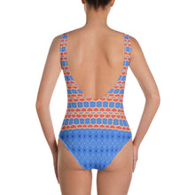Load image into Gallery viewer, French Blue Stripes Leotard
