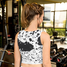 Load image into Gallery viewer, Dalmatian Crop Top - aqayoga  Crop Top UK Yoga Store