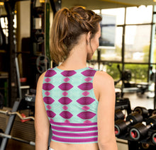 Load image into Gallery viewer, Ladies Night Crop Top - aqayoga  Crop Top UK Yoga Store