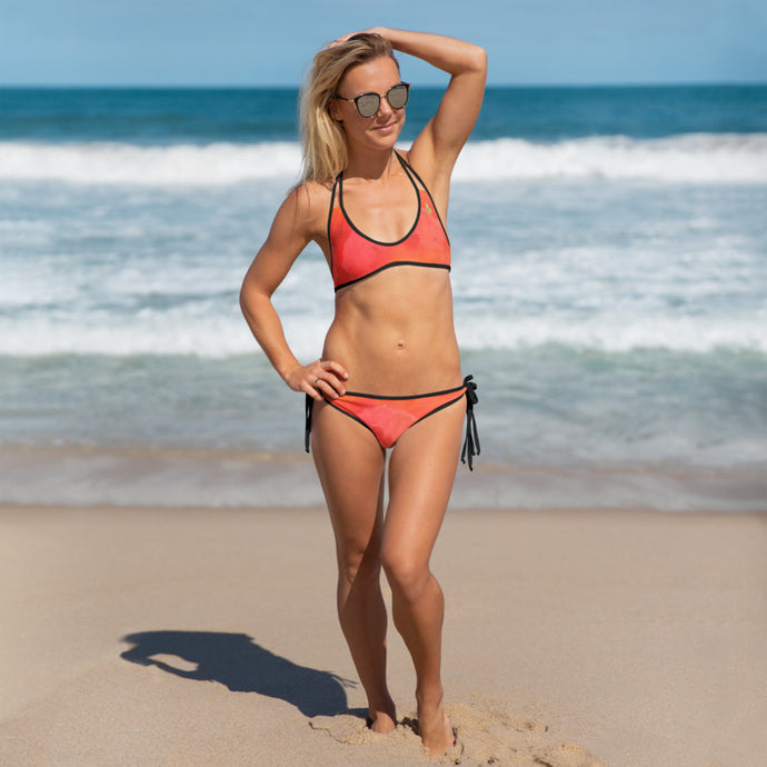 Red Love Bikini - aqayoga  Bikini UK Yoga Store