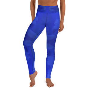Blue Royale Yoga Leggings