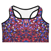 Load image into Gallery viewer, Paint Dot Sports bra - aqayoga  Sports Bra UK Yoga Store