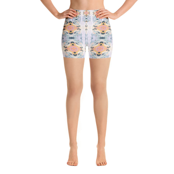 Pastel Yoga Shorts - aqayoga  Yoga Shorts UK Yoga Store