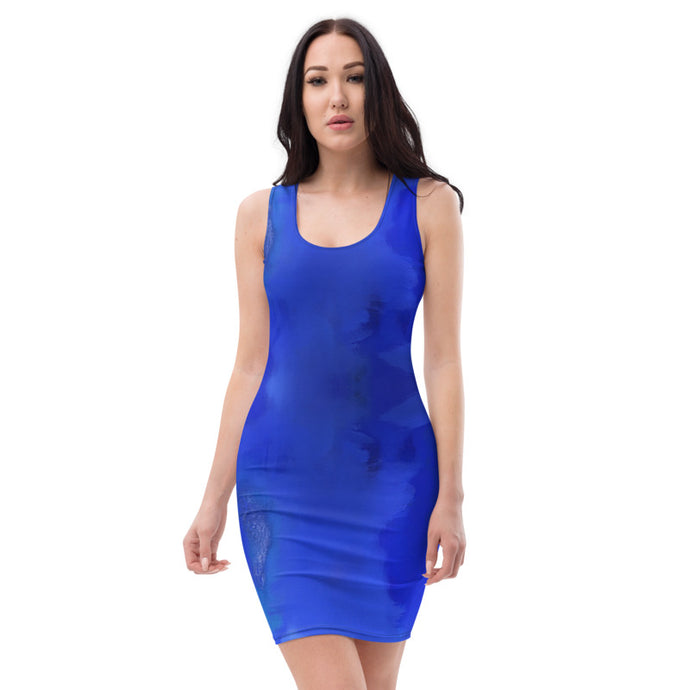 Blue Royale Dress