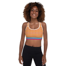 Load image into Gallery viewer, Yellow Lollipop Sports Bra - aqayoga  Sports Bra UK Yoga Store
