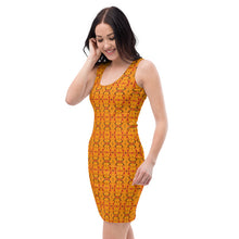 Load image into Gallery viewer, Orange Dress