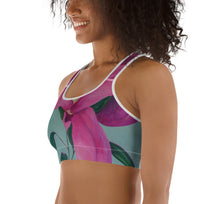 Load image into Gallery viewer, Lilium Sports Bra - aqayoga  Sports Bra UK Yoga Store