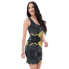 Load image into Gallery viewer, Black and Gold Dress