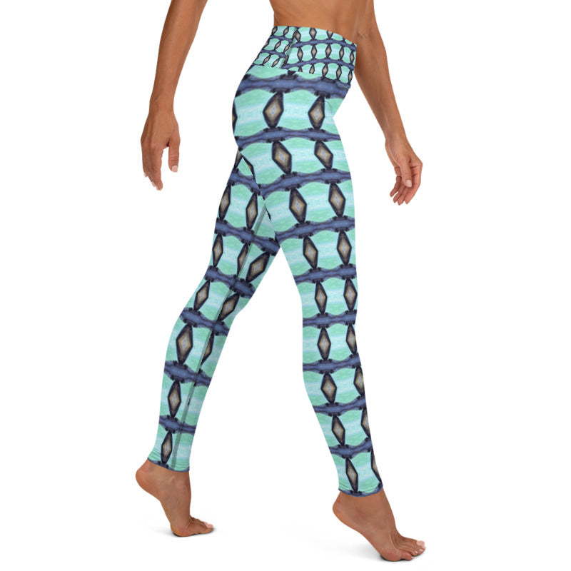 Once In A Lifetime Yoga Leggings - aqayoga  YOGA LEGGINGS UK Yoga Store