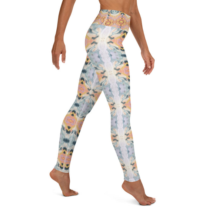 Pastel Yoga Leggings - aqayoga  YOGA LEGGINGS UK Yoga Store