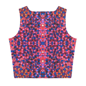 Paint Dot Crop Top - aqayoga  Crop Top UK Yoga Store